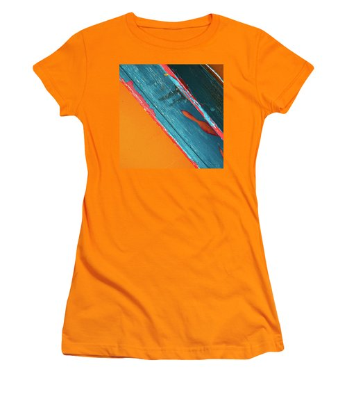 Color Abstraction Lxii Sq Women's T-Shirt (Junior Cut) by David Gordon