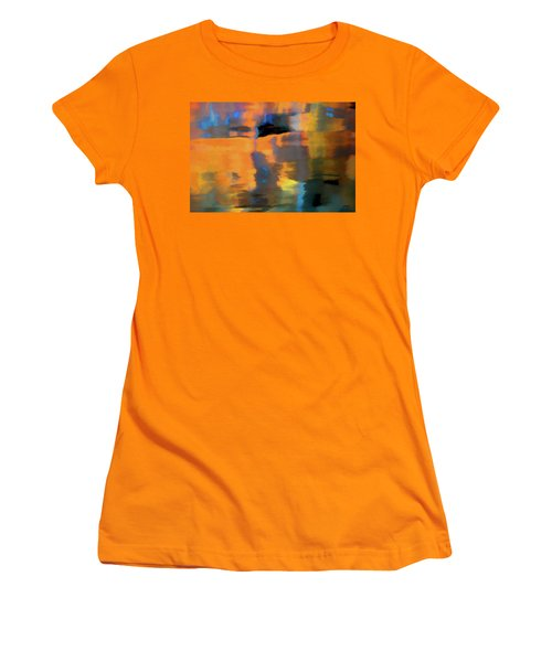 Color Abstraction Lxxii Women's T-Shirt (Junior Cut) by David Gordon