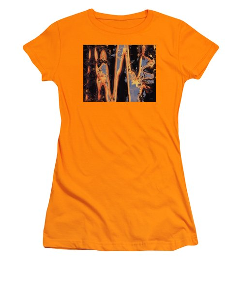 Color Abstraction Xli Women's T-Shirt (Athletic Fit)