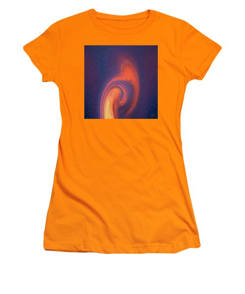Color Abstraction Xlii Women's T-Shirt (Athletic Fit)