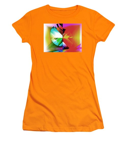 Color Of The Fractal Women's T-Shirt (Junior Cut) by Mario Carini