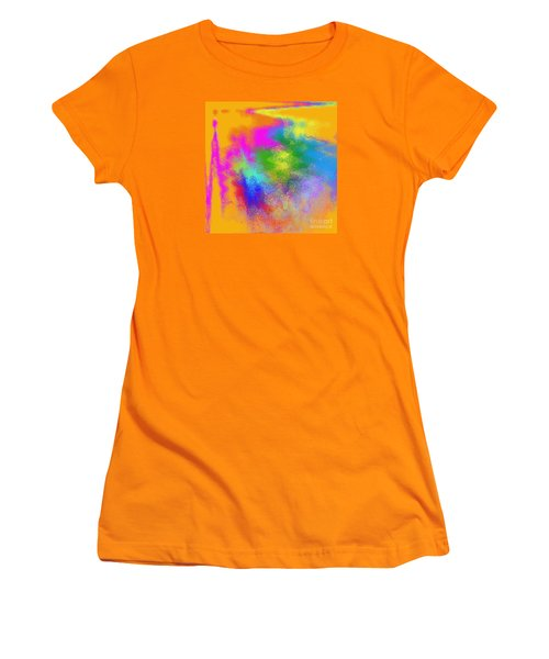 Color Towers Women's T-Shirt (Athletic Fit)