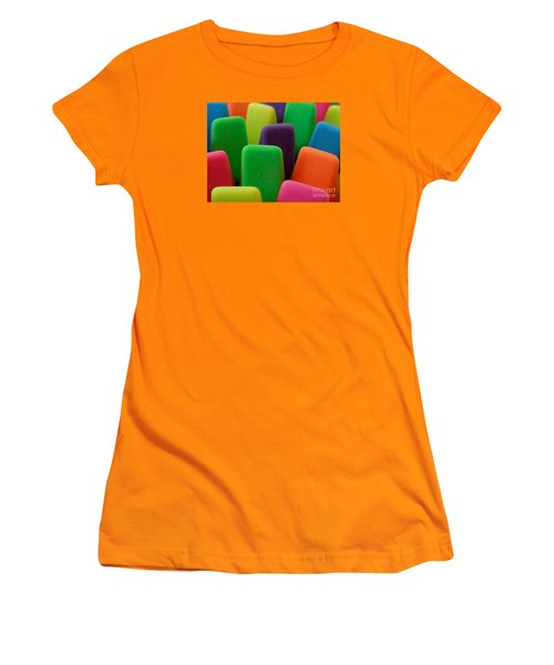 Colors Women's T-Shirt (Junior Cut) by Chad and Stacey Hall