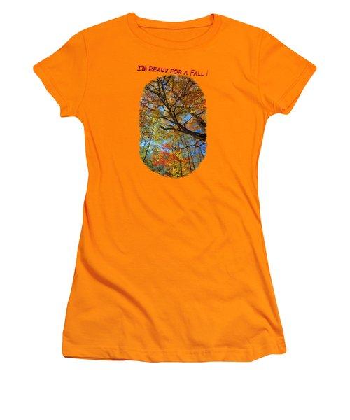 Colors On High 3 Women's T-Shirt (Junior Cut) by John M Bailey