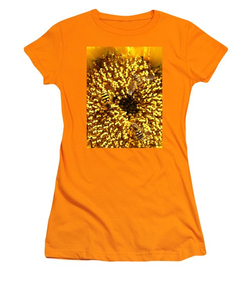 Colour Of Honey Women's T-Shirt (Athletic Fit)