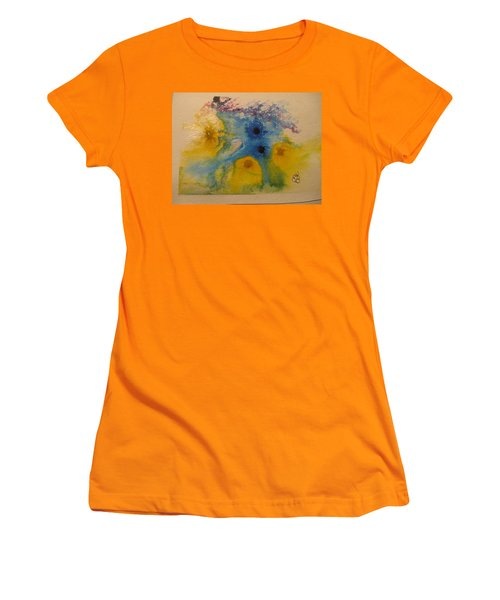 Colourful Women's T-Shirt (Athletic Fit)