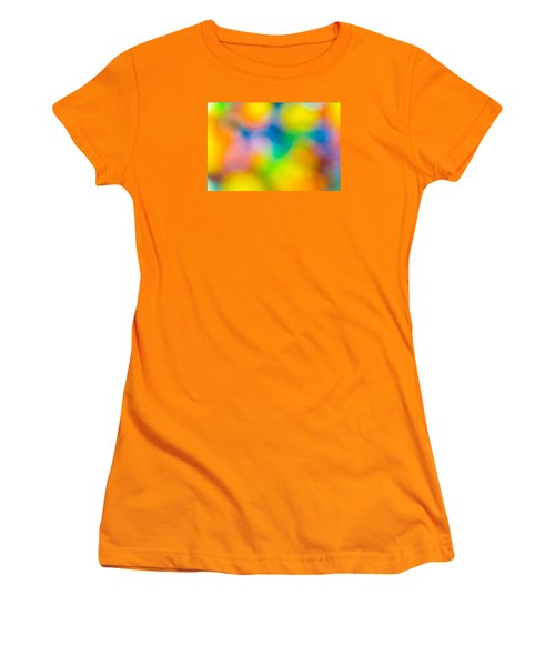Women's T-Shirt (Junior Cut) featuring the photograph Colourful Dreams by Keith Hawley
