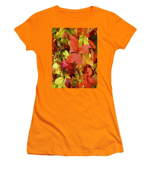 Colours Of Autumn Women's T-Shirt (Junior Cut)