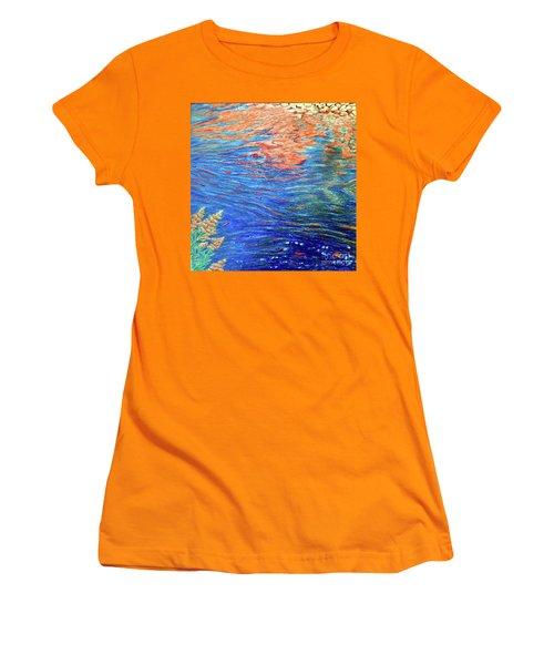 Copper Flow Women's T-Shirt (Athletic Fit)