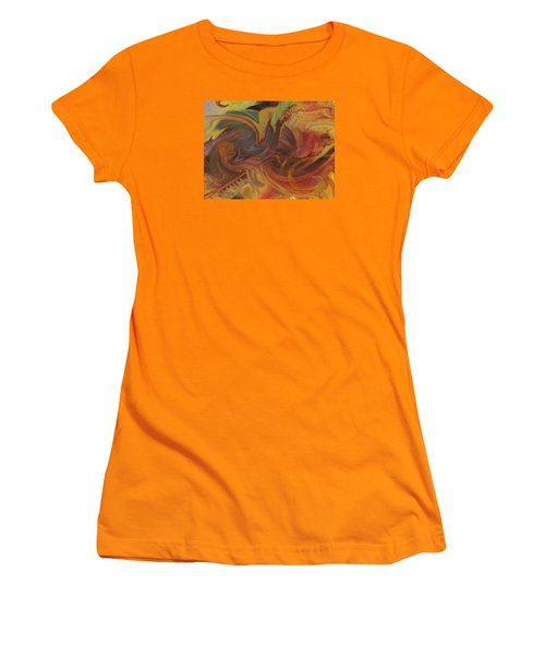 Coral Sea Women's T-Shirt (Junior Cut) by David Klaboe