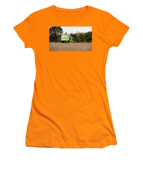 Cotton Picker Women's T-Shirt (Athletic Fit)
