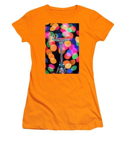 Couple Dancing Women's T-Shirt (Athletic Fit)