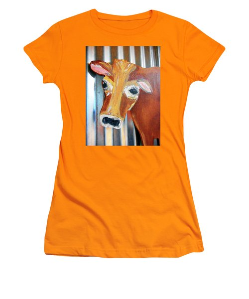 Cows 4 Women's T-Shirt (Athletic Fit)
