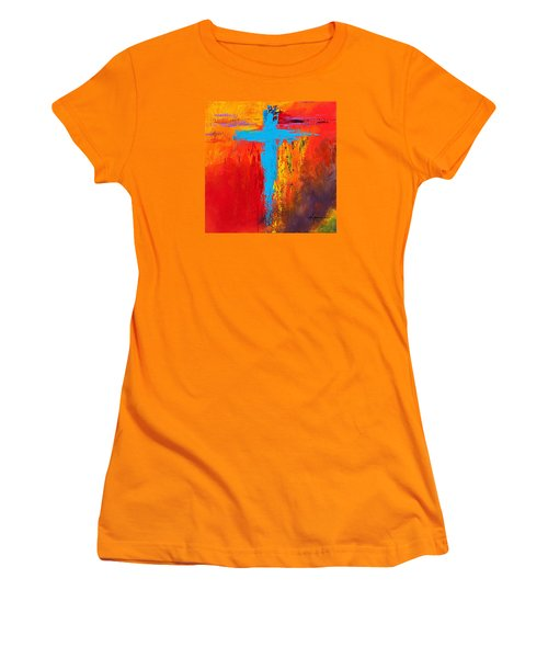 Cross 3 Women's T-Shirt (Junior Cut) by Kume Bryant