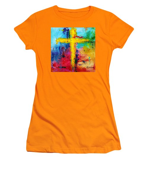 Cross 7 Women's T-Shirt (Athletic Fit)