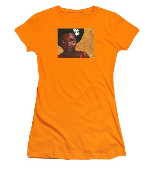 Cutie Pie Women's T-Shirt (Junior Cut) by Alga Washington