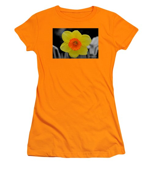 Daffodil Delight  Women's T-Shirt (Athletic Fit)