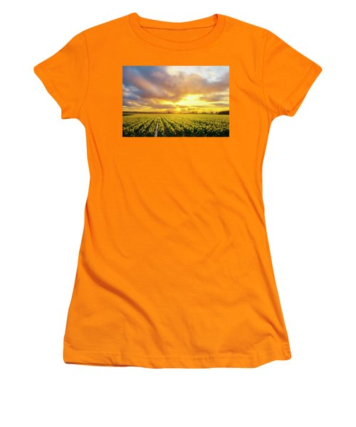 Dances With The Daffodils Women's T-Shirt (Athletic Fit)