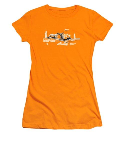 Danish Sheep Women's T-Shirt (Athletic Fit)