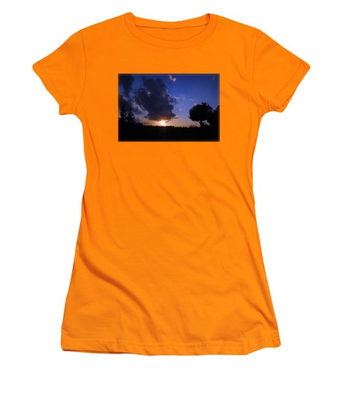 Dark Sunset T-shirt 2 Women's T-Shirt (Junior Cut) by Isam Awad