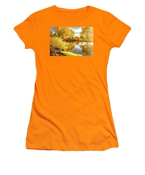 Days Last Rays Women's T-Shirt (Junior Cut) by Kristal Kraft