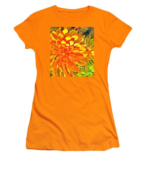 Dazzling Succulent Women's T-Shirt (Athletic Fit)