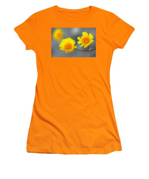 Women's T-Shirt (Junior Cut) featuring the photograph Death Valley Superbloom 204 by Daniel Woodrum