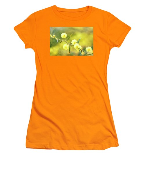 Women's T-Shirt (Athletic Fit) featuring the photograph Delights Of An Aussie Spring by Linda Lees