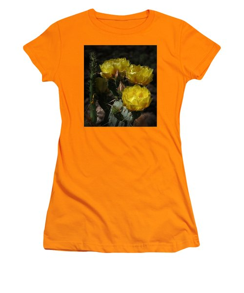 Desert Blooming Women's T-Shirt (Junior Cut) by Elaine Malott
