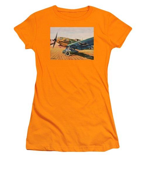 Desert Storm Women's T-Shirt (Athletic Fit)