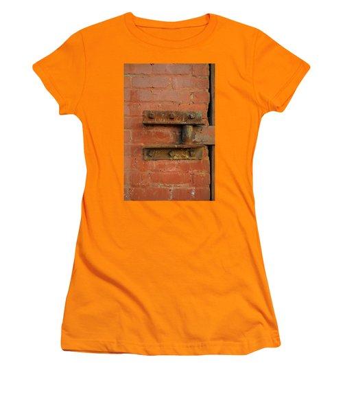 Door Hinge Women's T-Shirt (Athletic Fit)