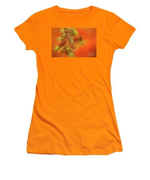 Dragonfly Women's T-Shirt (Junior Cut) by Suzanne Handel