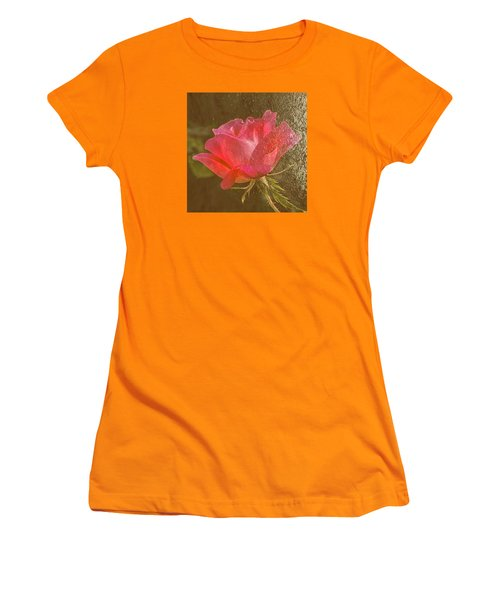 Dressed In Gold Women's T-Shirt (Junior Cut) by Susi Stroud