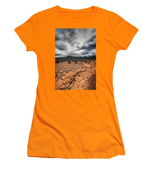 Women's T-Shirt (Junior Cut) featuring the photograph Drought by Ryan Manuel