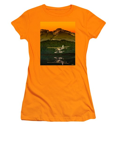 Early Morning Glass Women's T-Shirt (Athletic Fit)