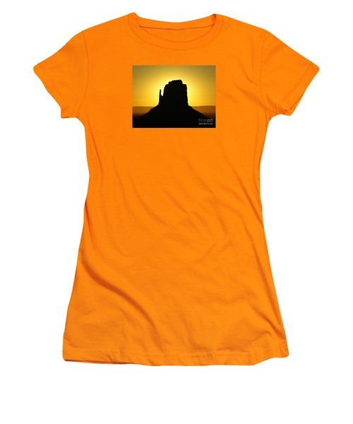 East Mitten Butte Women's T-Shirt (Athletic Fit)