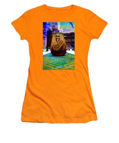 Women's T-Shirt (Junior Cut) featuring the photograph Ecuadorian Vase Art by Al Bourassa