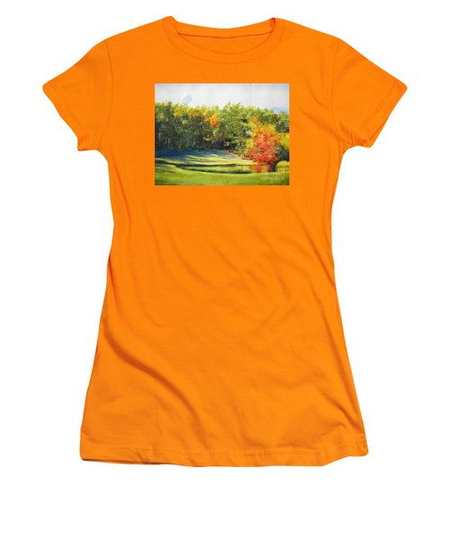 Eighteenth Hole Women's T-Shirt (Athletic Fit)