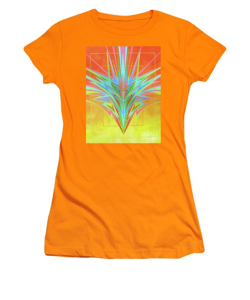 Electric Personality  Women's T-Shirt (Athletic Fit)