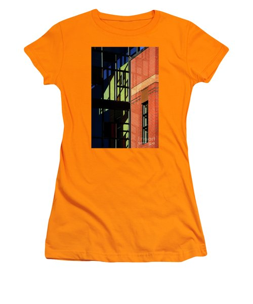 Women's T-Shirt (Junior Cut) featuring the photograph Element Of Reflection by Vicki Pelham