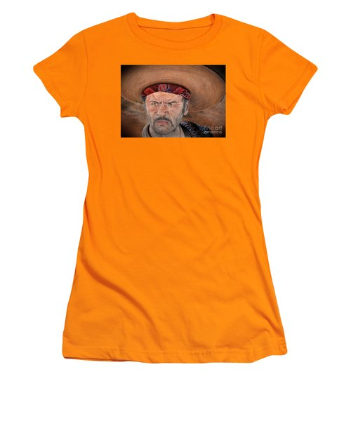 Eli Wallach As Tuco In The Good The Bad And The Ugly Version II Women's T-Shirt (Athletic Fit)