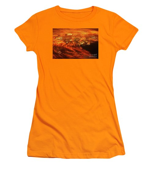 Women's T-Shirt (Junior Cut) featuring the photograph Emp Electromagnetic Pulse by Craig Wood