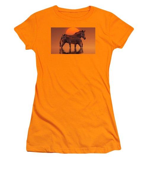 Enjoy Life Women's T-Shirt (Junior Cut) by Gabriella Weninger - David