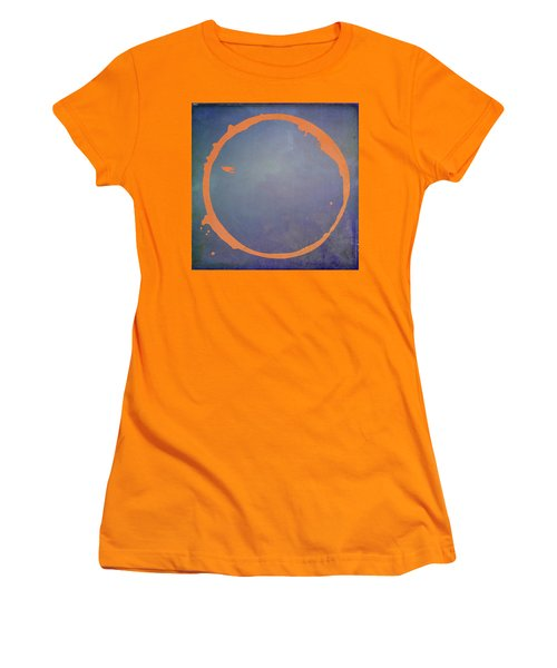 Women's T-Shirt (Junior Cut) featuring the digital art Enso 2017-3 by Julie Niemela