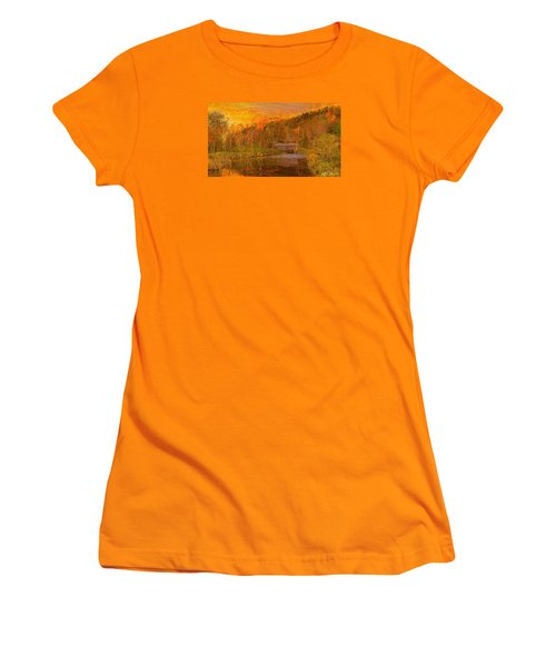 Evening Shadows II Women's T-Shirt (Athletic Fit)