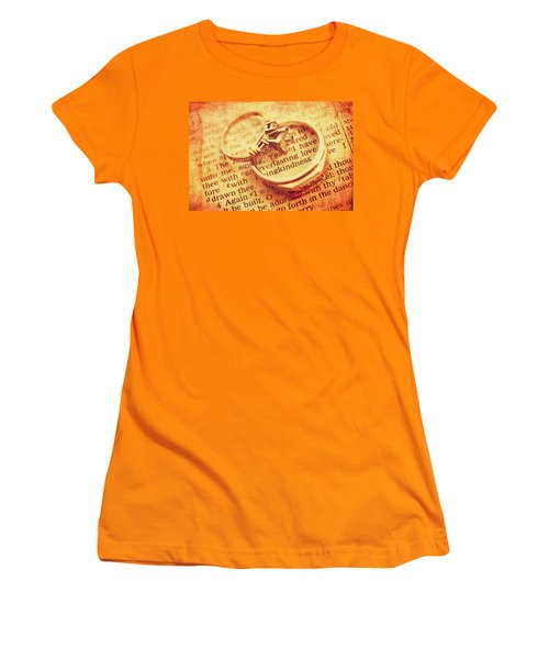 Women's T-Shirt (Athletic Fit) featuring the photograph Everlasting Love by Trina Ansel