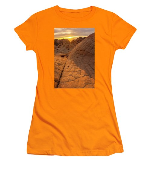 Women's T-Shirt (Junior Cut) featuring the photograph Exploring New Worlds by Dustin LeFevre