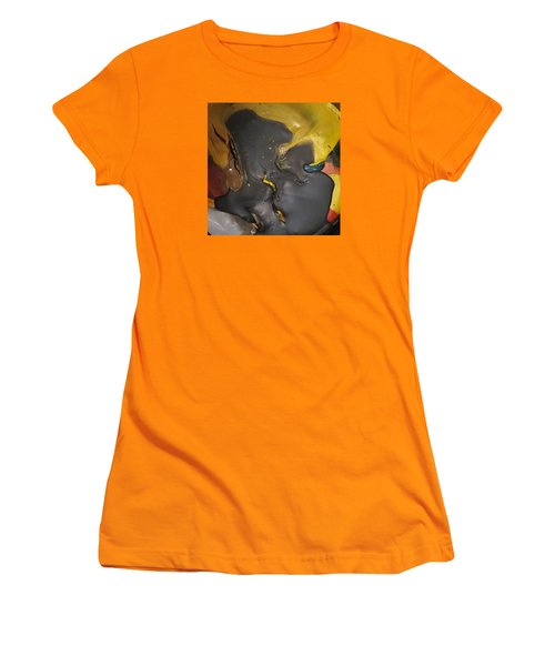 Eyelash Hot Gliding Women's T-Shirt (Junior Cut) by Gyula Julian Lovas