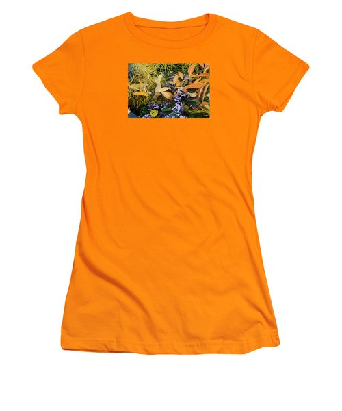 Fall Color Soup Women's T-Shirt (Junior Cut) by Deborah  Crew-Johnson