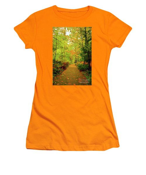 Fall Path Too Women's T-Shirt (Athletic Fit)